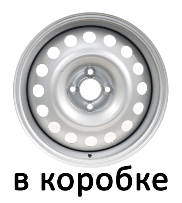Автодиск SWORTECH S505 6x15 4x100 ET50 60.1 Silver 9296604 (в коробке)